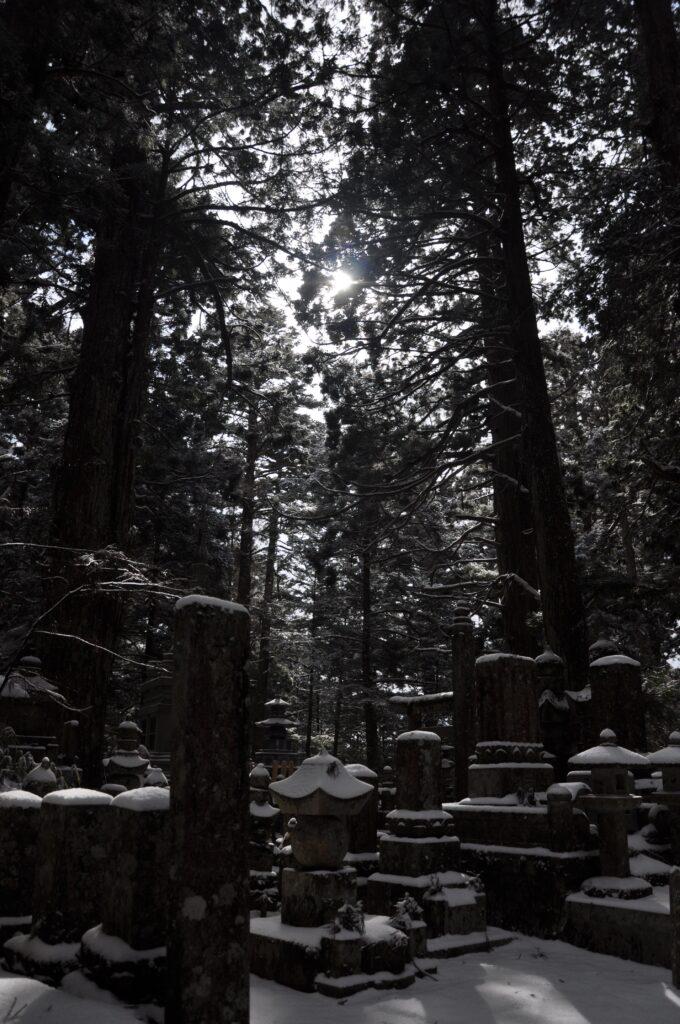The cemetery at Koya San
